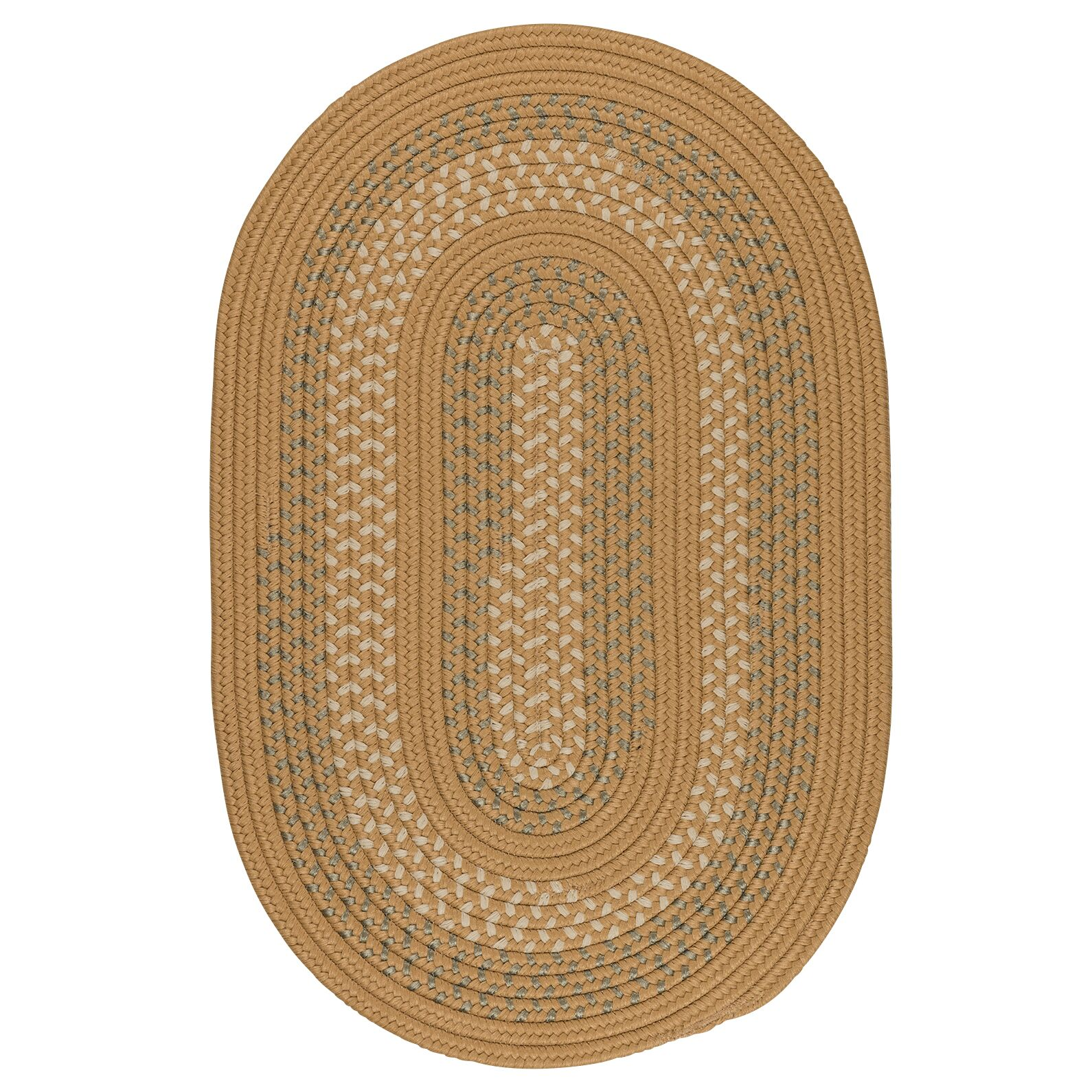 Knudtson Bronze Indoor/Outdoor Area Rug Rug Size: Round 10'