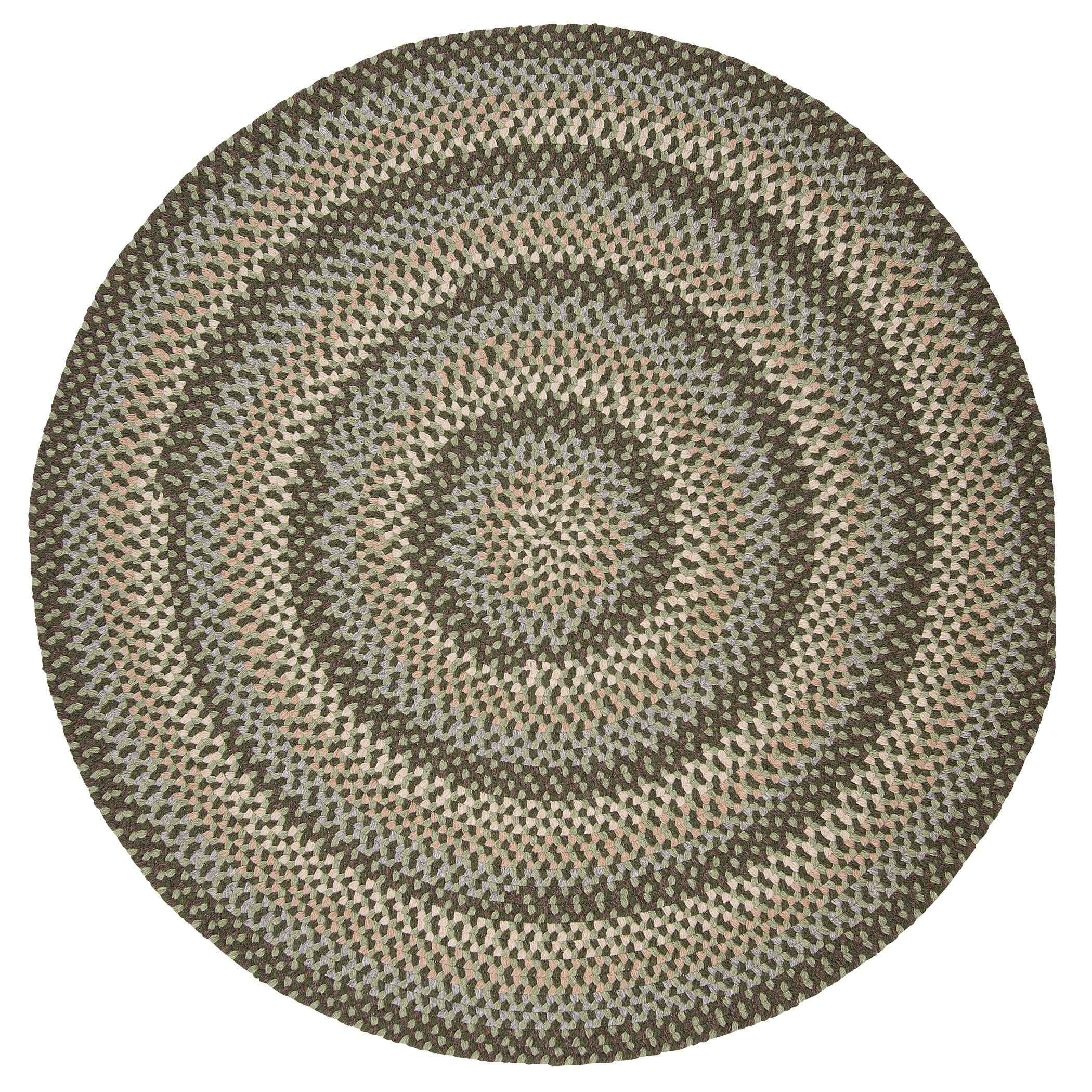 Lettie Moss Green Area Rug Rug Size: Oval 12' x 15'