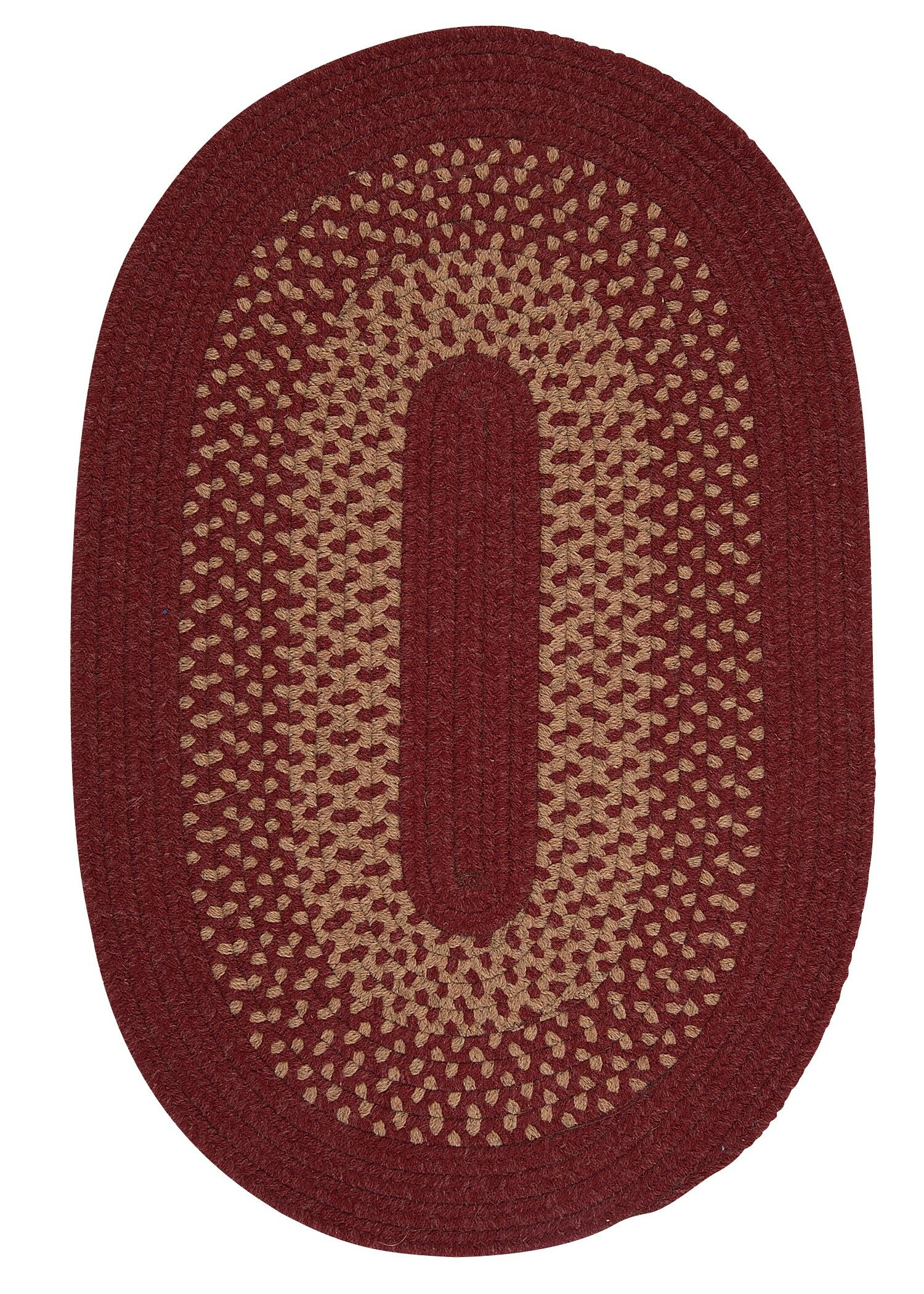 Lionel Holly Berry Area Rug Rug Size: Oval 3' x 5'