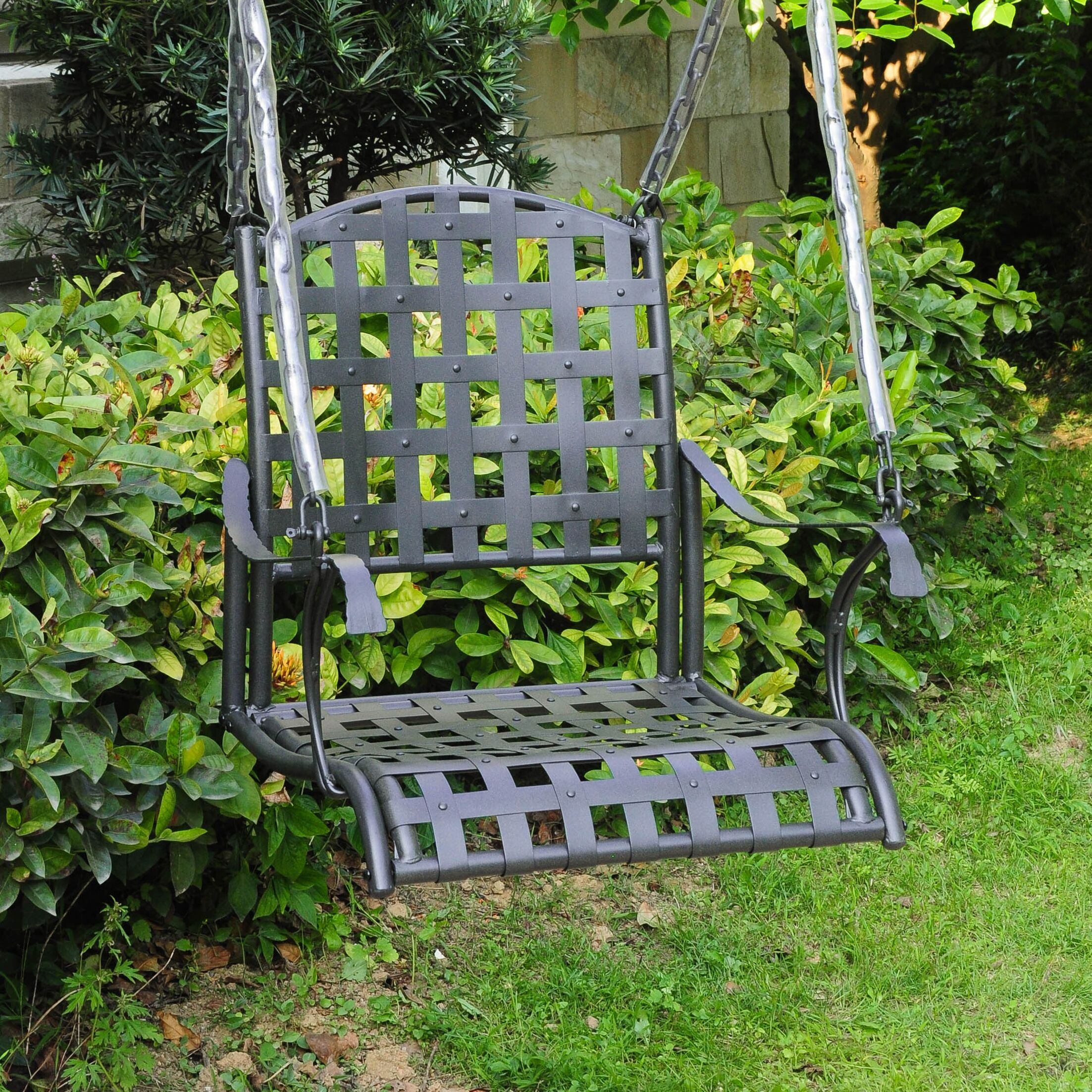 Schilling Porch Swing Finish: Antique Black