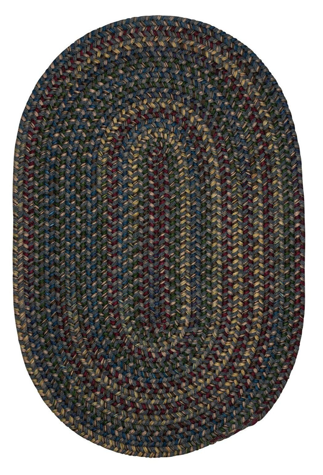 Lippold Charcoal Area Rug Rug Size: Oval 2' x 10'