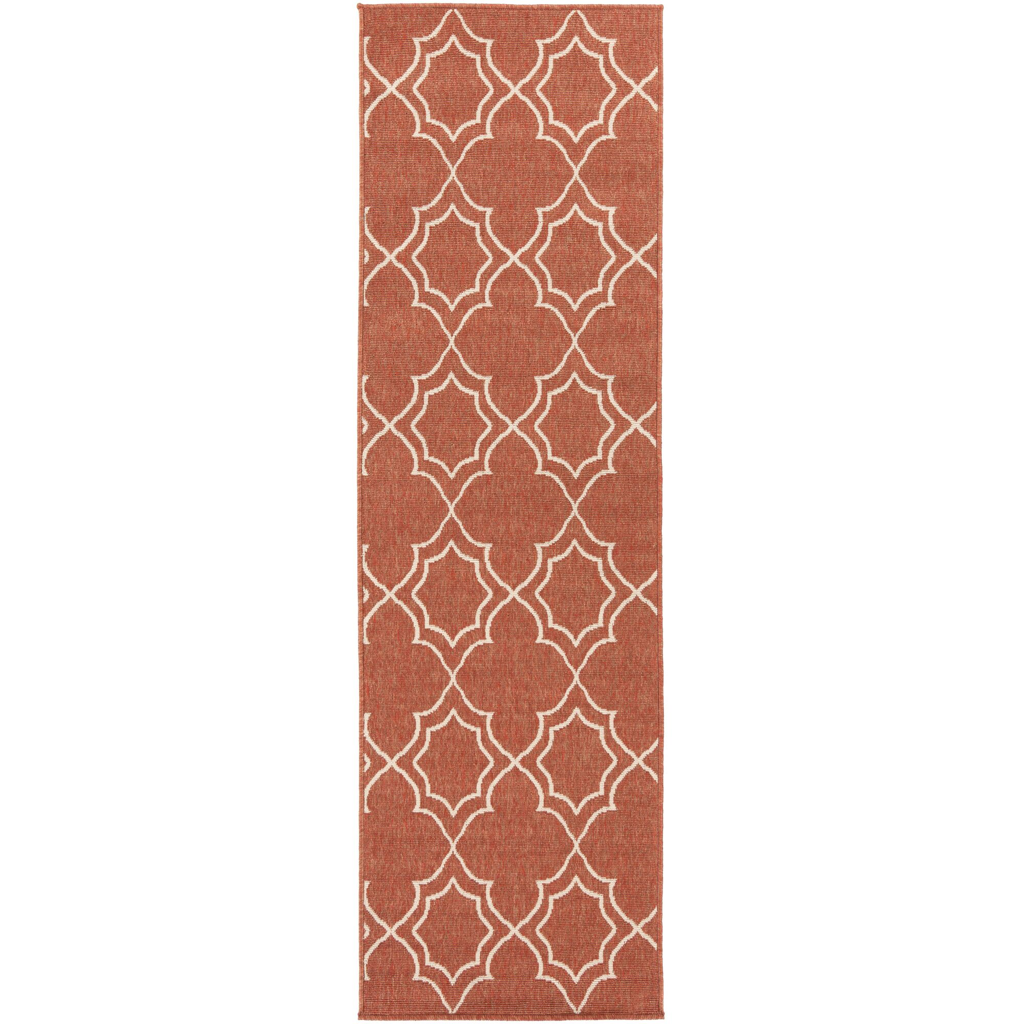 Amato Red Indoor/Outdoor Area Rug Rug Size: Runner 2'3