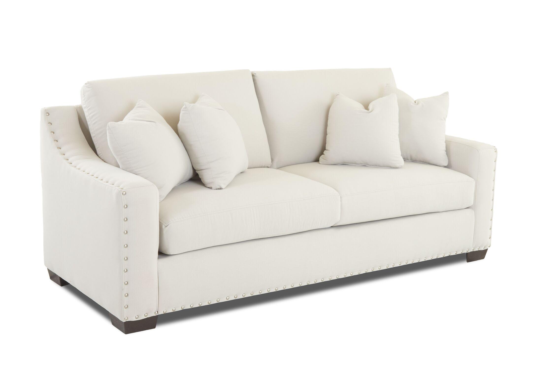 Elaine Loveseat Upholstery: Amigo Linen