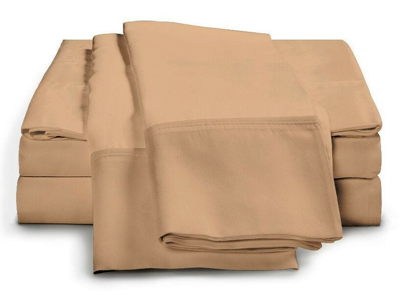 Schumann 300 Thread Count Sheet Set Color: Gold, Size: Full