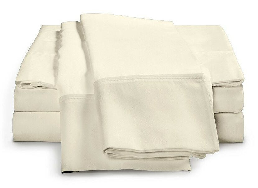 Schumann 300 Thread Count Sheet Set Color: Ivory, Size: King