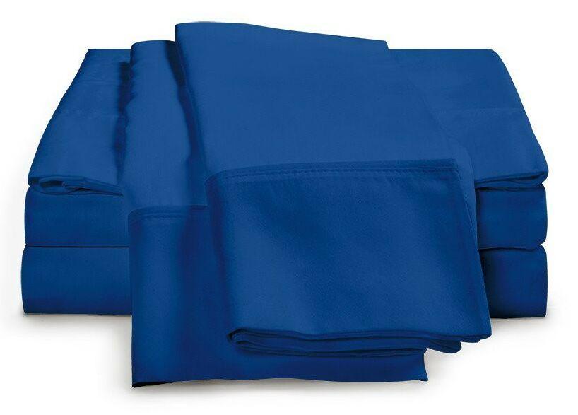 Schumann 300 Thread Count Sheet Set Color: Smoke Blue, Size: King