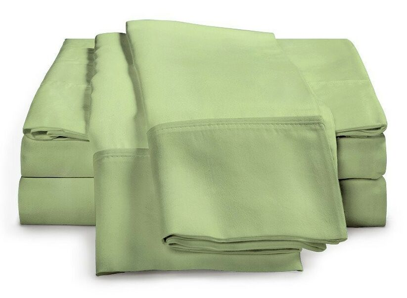 Schumann 300 Thread Count Sheet Set Color: Sage, Size: King