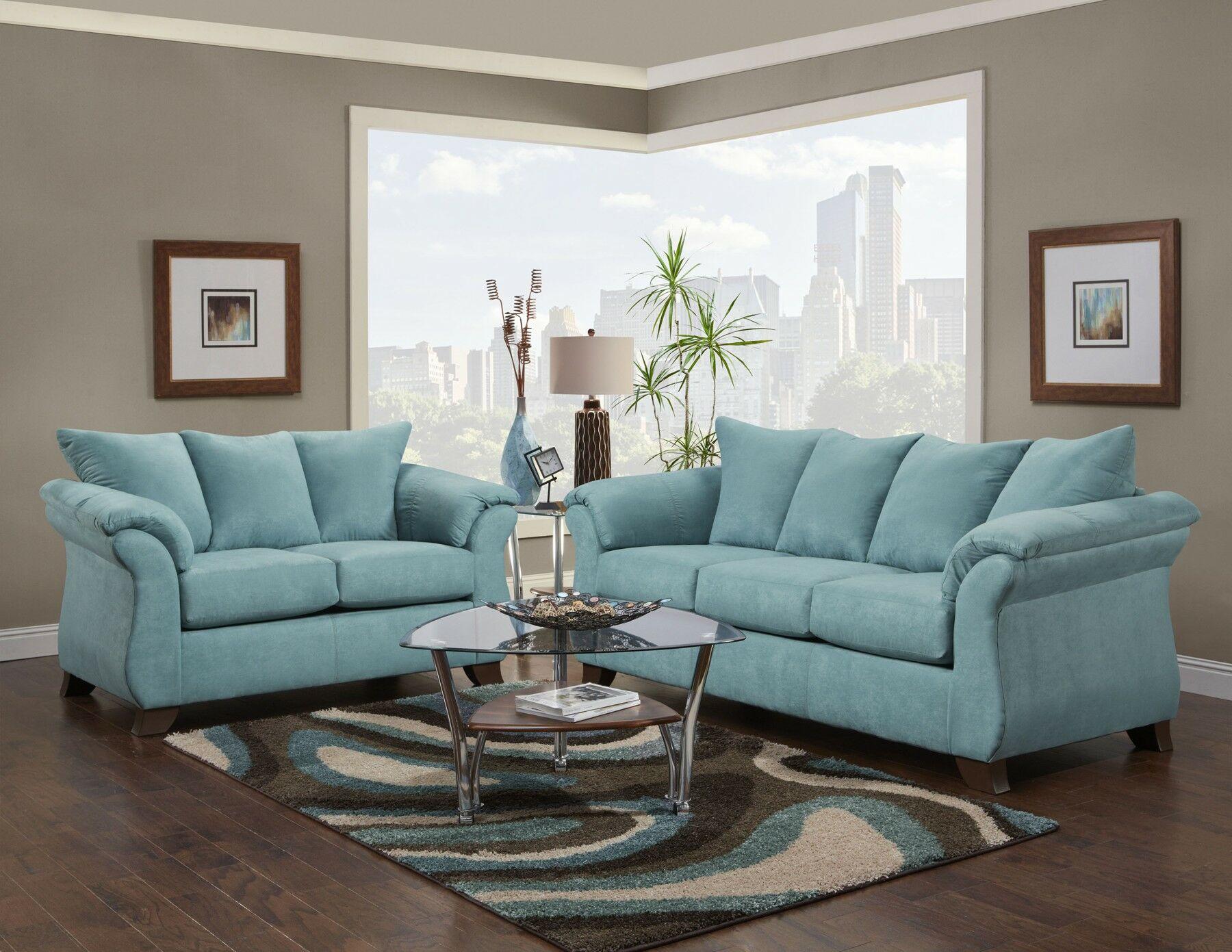 Claycomb 2 Piece Living Room Set