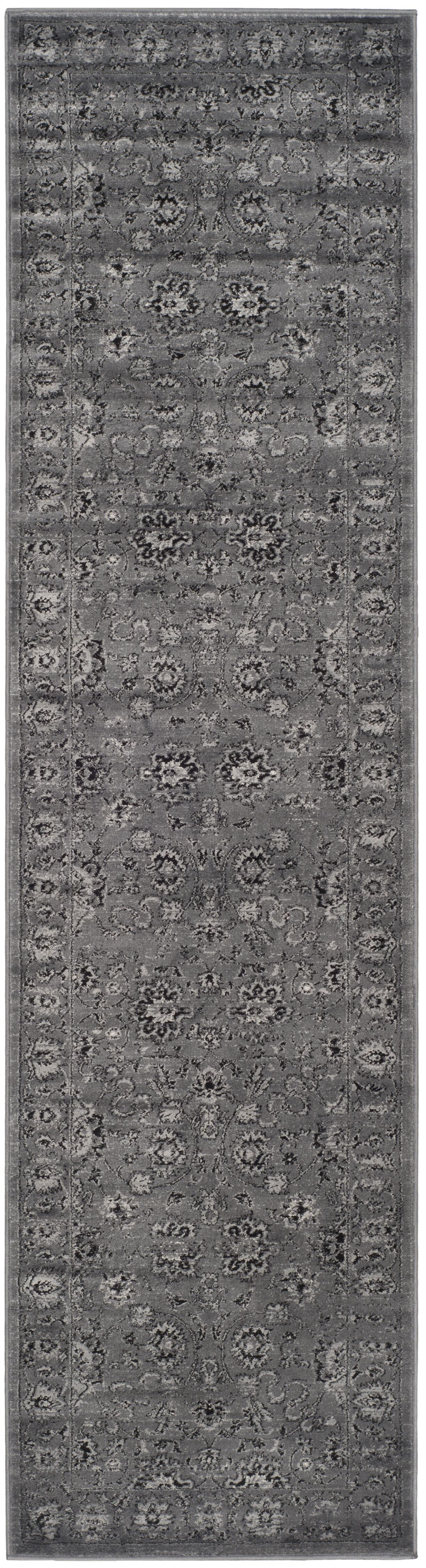 Bainsby Dark Gray / Light Gray Area Rug Rug Size: Rectangle 8' x 10'