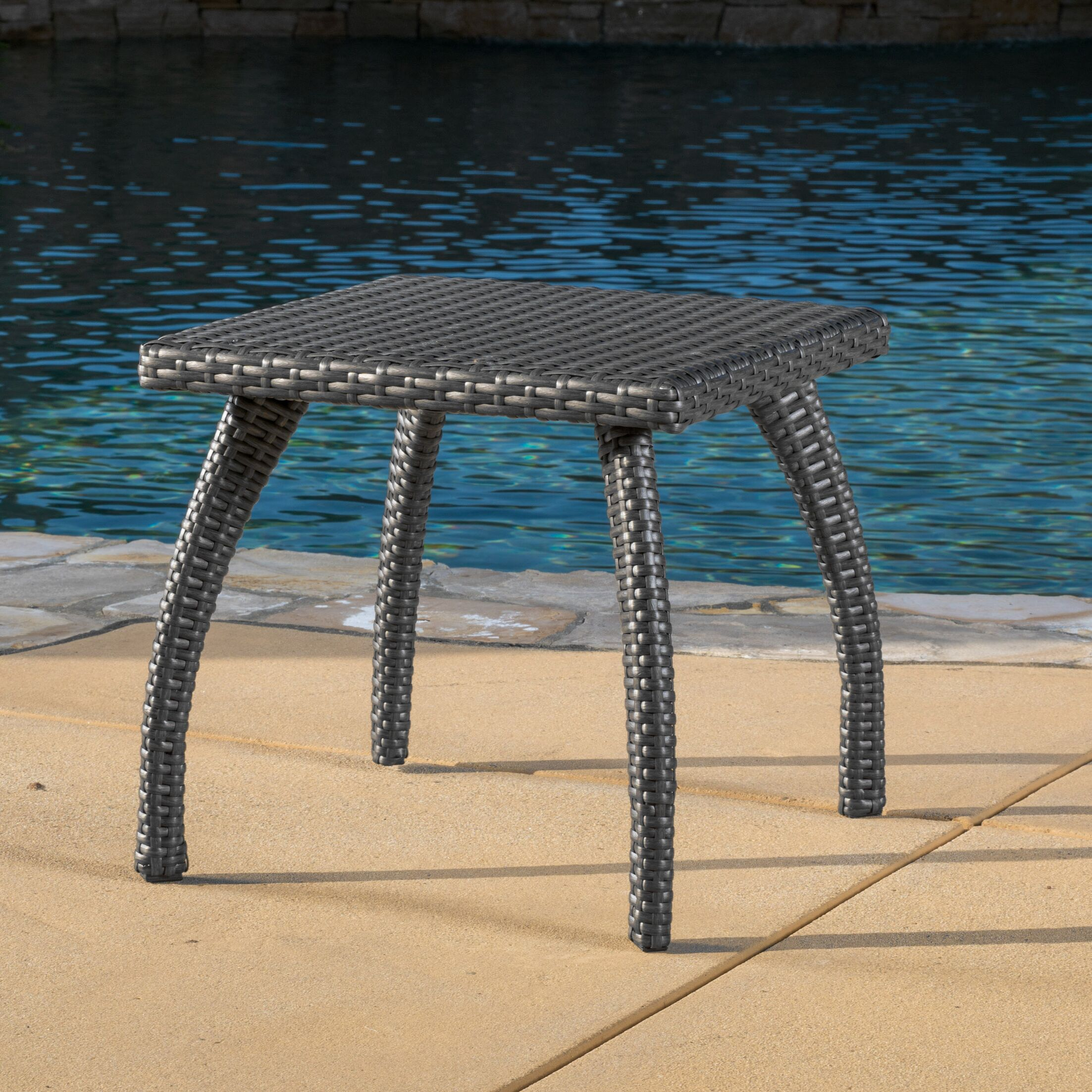 Justine Side Table Finish: Grey