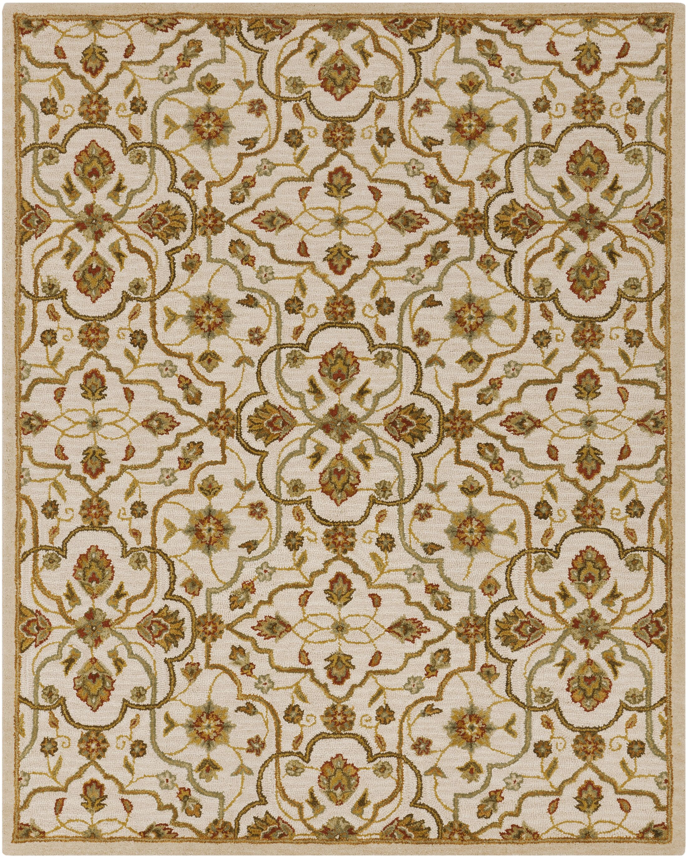 Burwood Parchment Rug Rug Size: Rectangle 8' x 10'