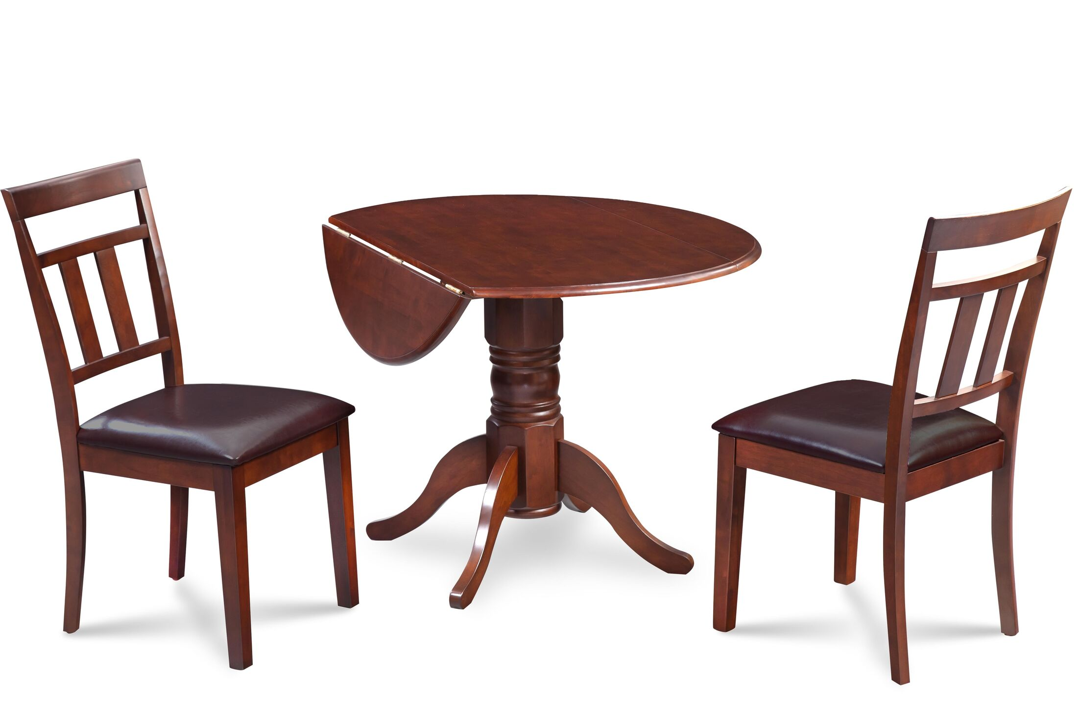 Dining Table Sets Chesterton 3 Piece Carved Solid Wood Dining Set