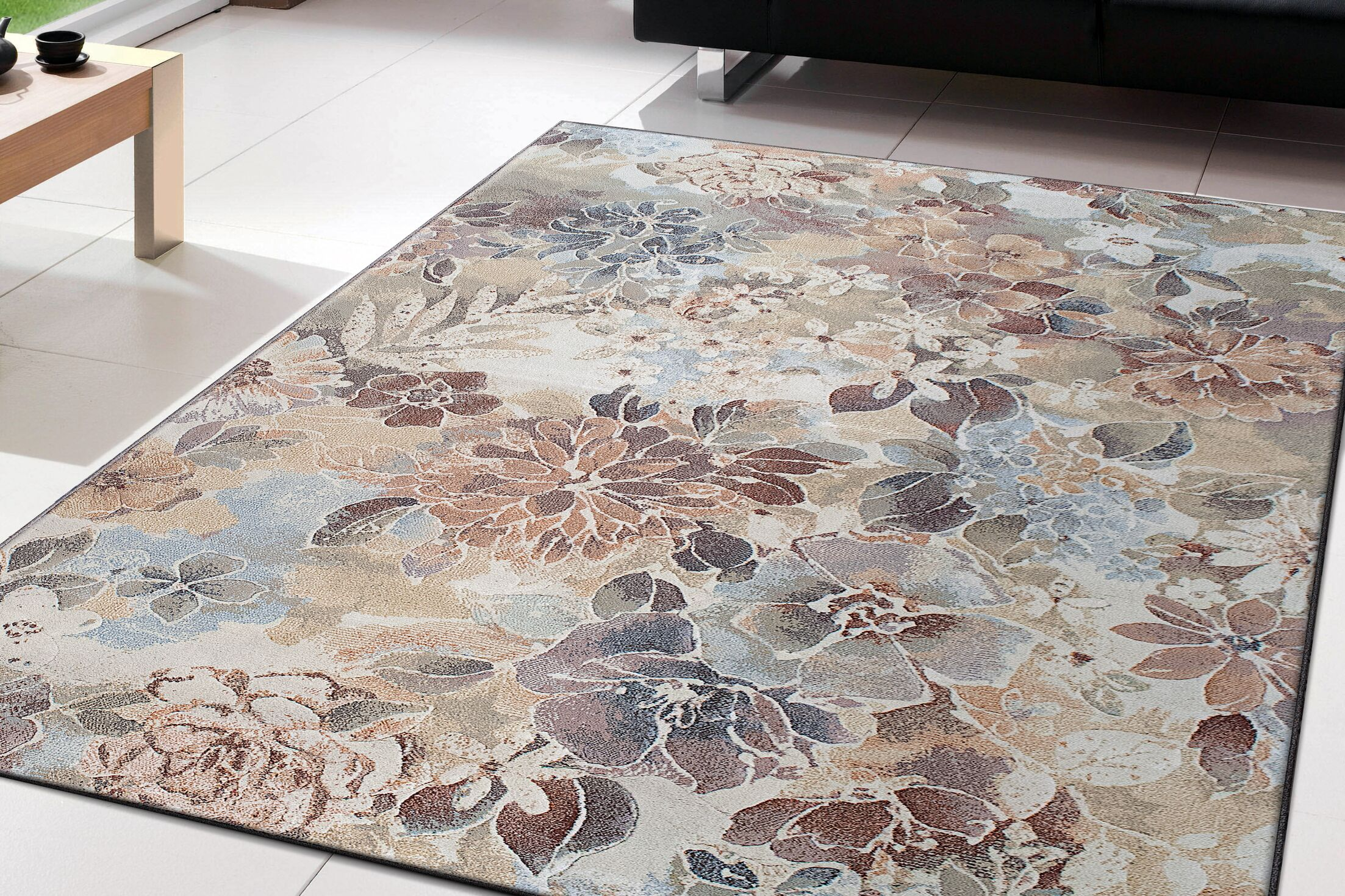 Lares Area Rug Rug Size: Rectangle 5'3