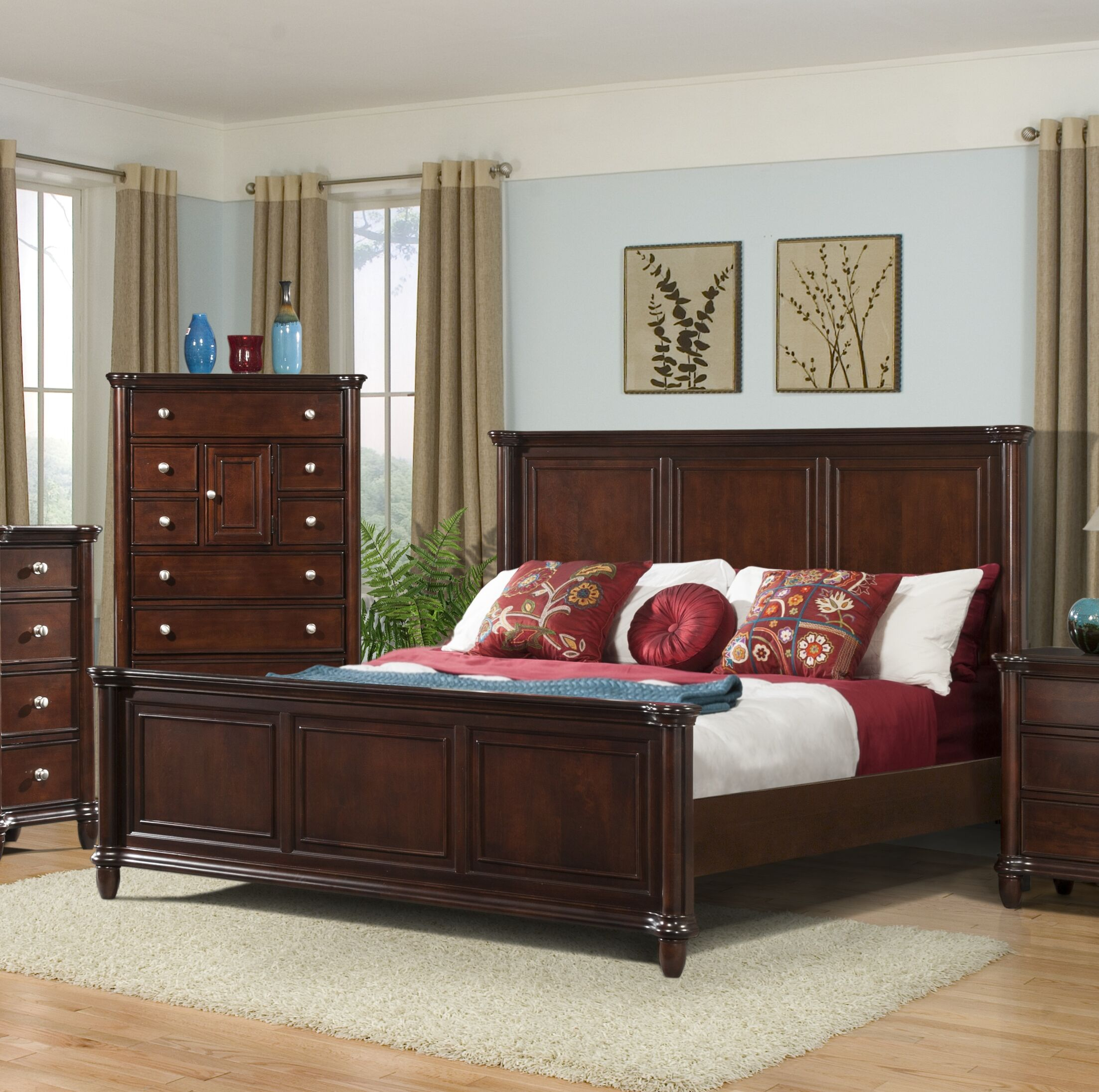 Bancroft Woods Panel Bed Size: Queen