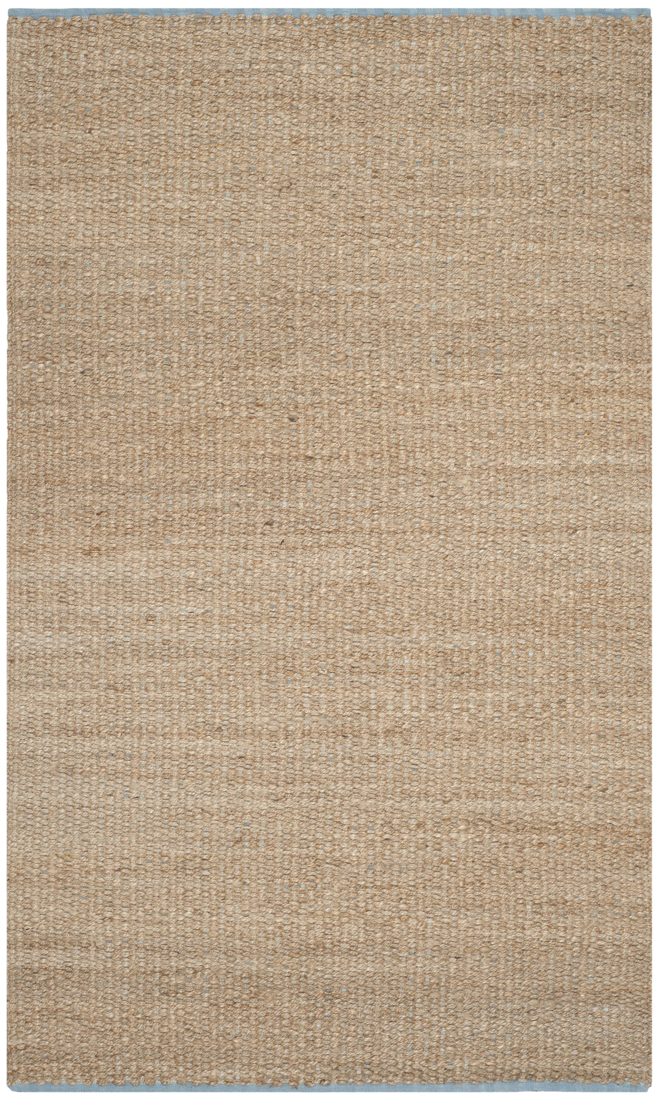 Elston Hand-Woven Light Beige/Natural Area Rug Rug Size: Rectangle 5' x 8'