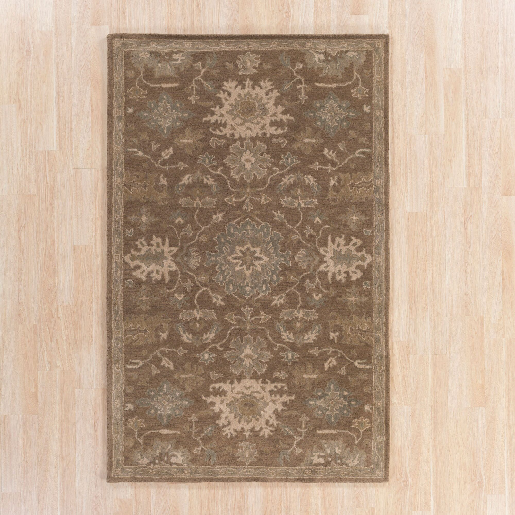 Whittaker Brown Area Rug Rug Size: Rectangle 10' x 14'