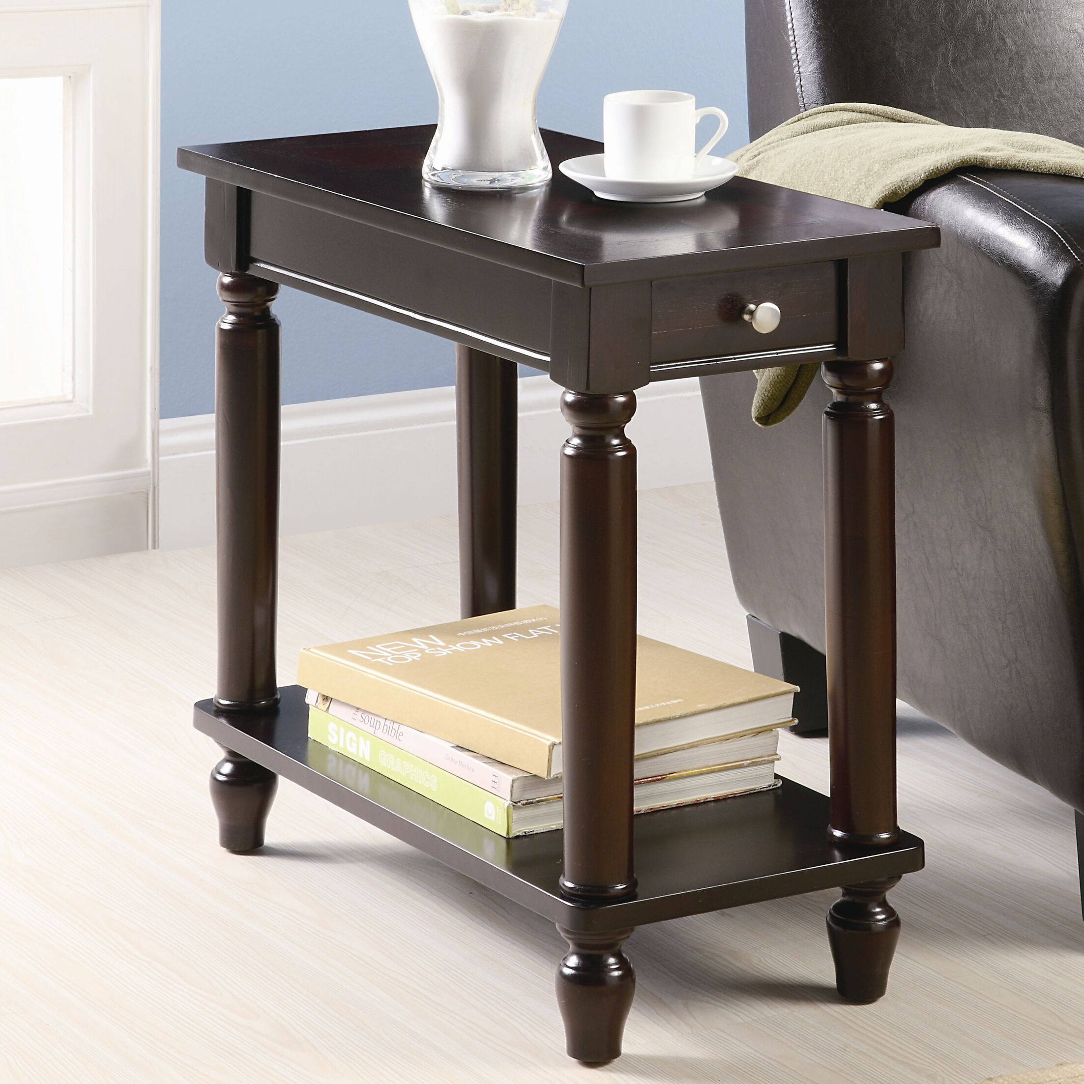 Louis End Table With Storage