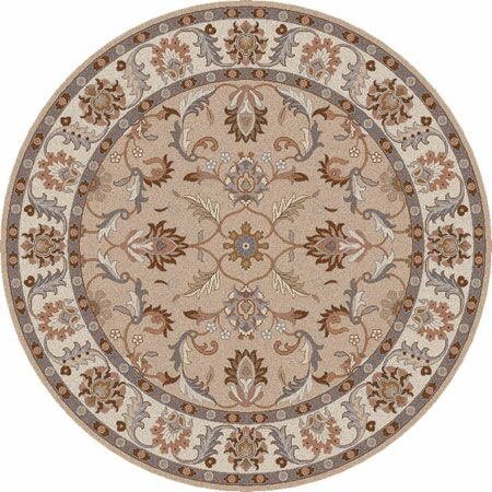 Waterston Papyrus Area Rug Rug Size: Square 4'
