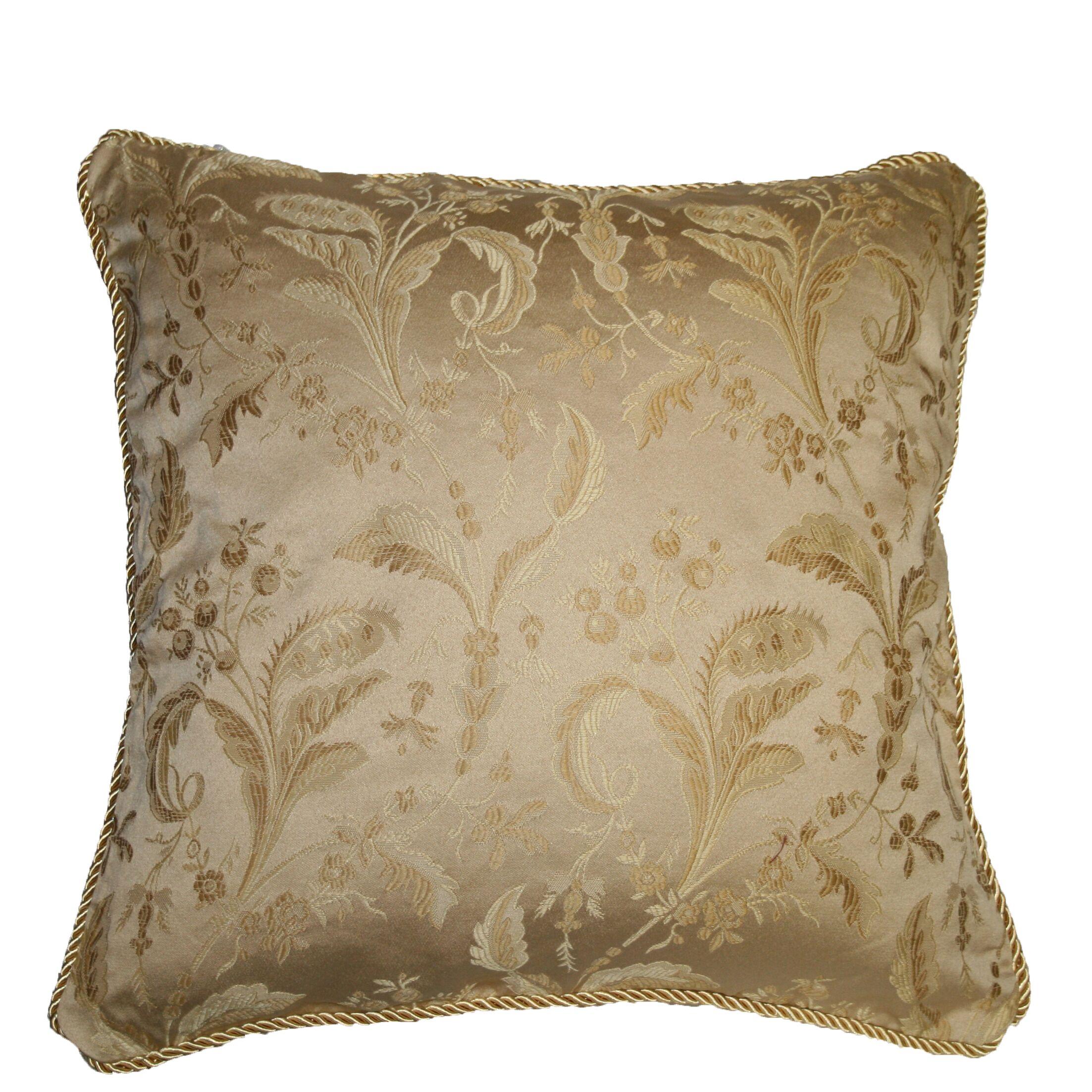 Rockport Design Decorative Pillow Cover Color: Gold