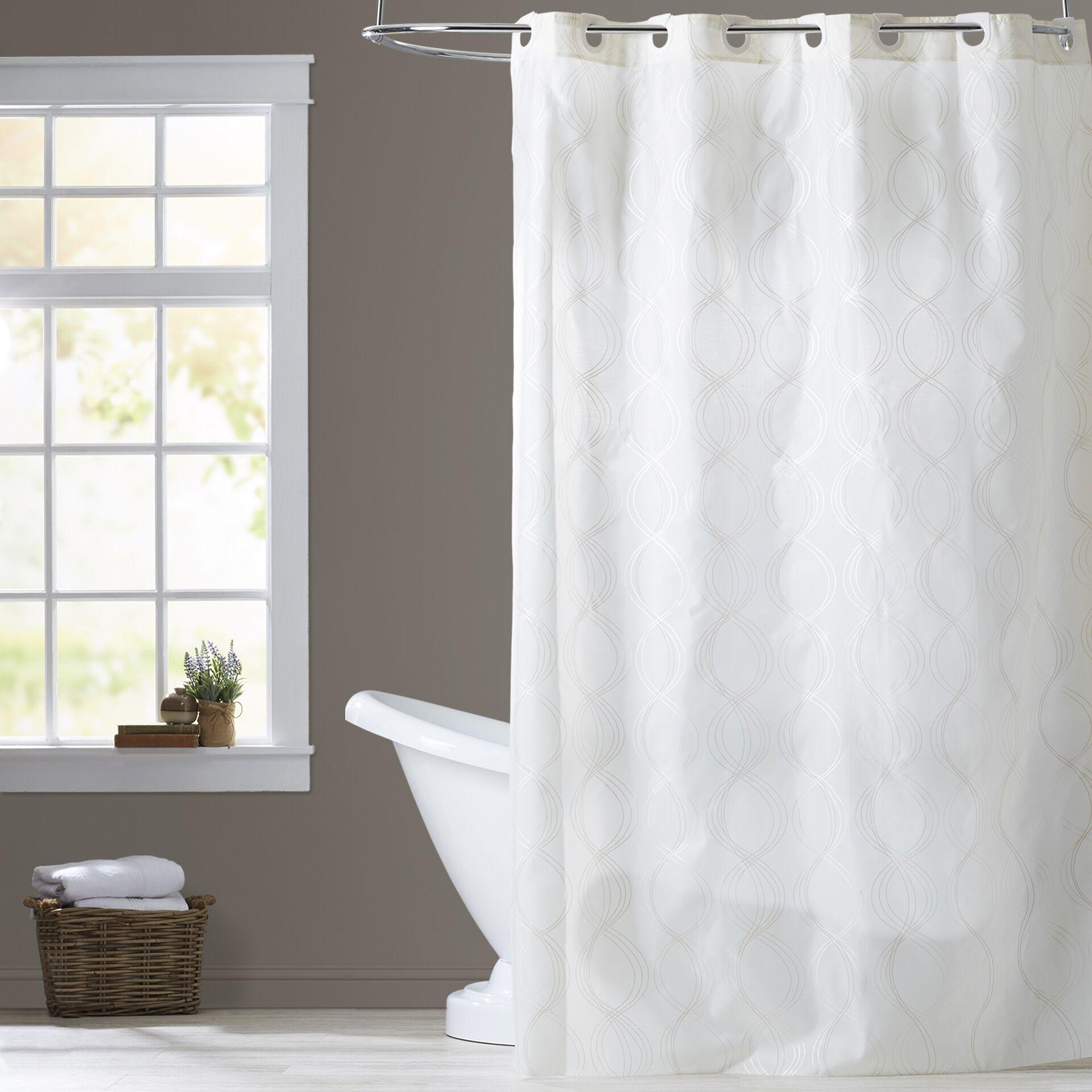 Bristol Ivory Shower Curtain