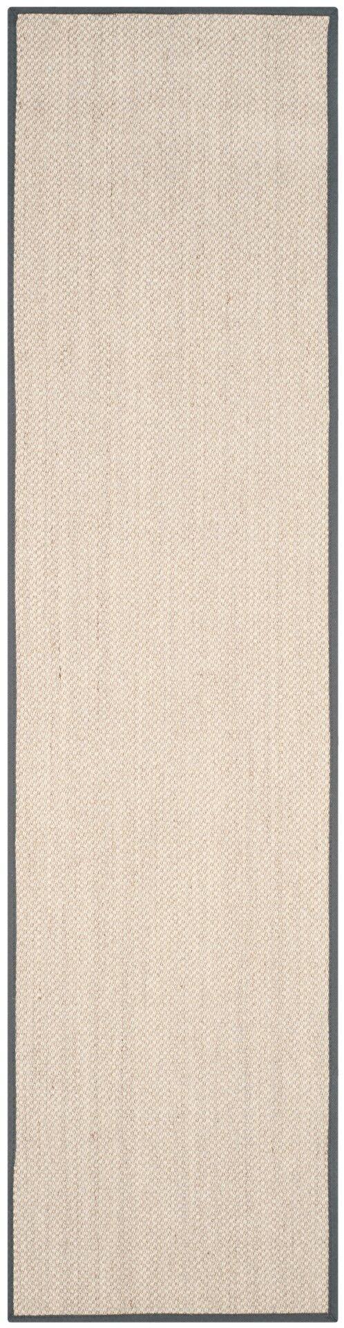 MonadnockBeige/Gray Area Rug Rug Size: Runner 2'6