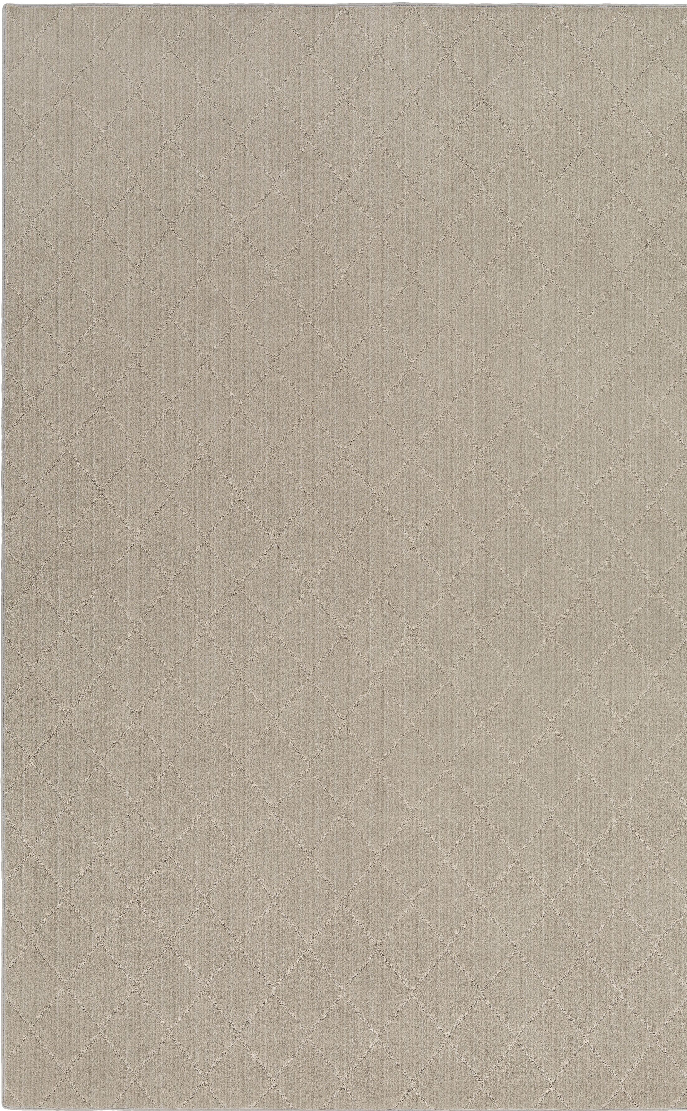 Huxley Gray Area Rug Rug Size: Rectangle 5' x 7'
