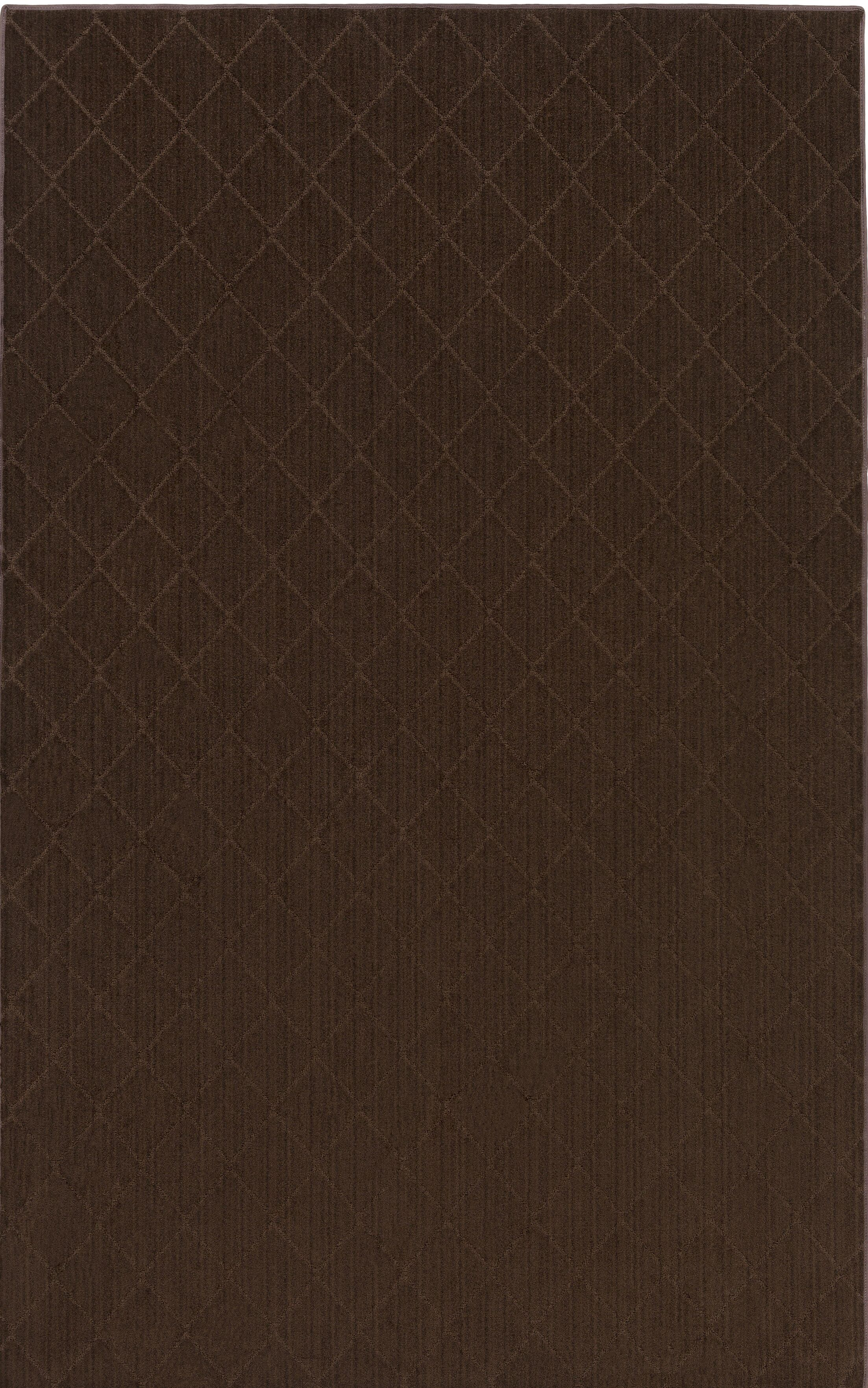 Huxley Brown Area Rug Rug Size: Rectangle 5' x 8'