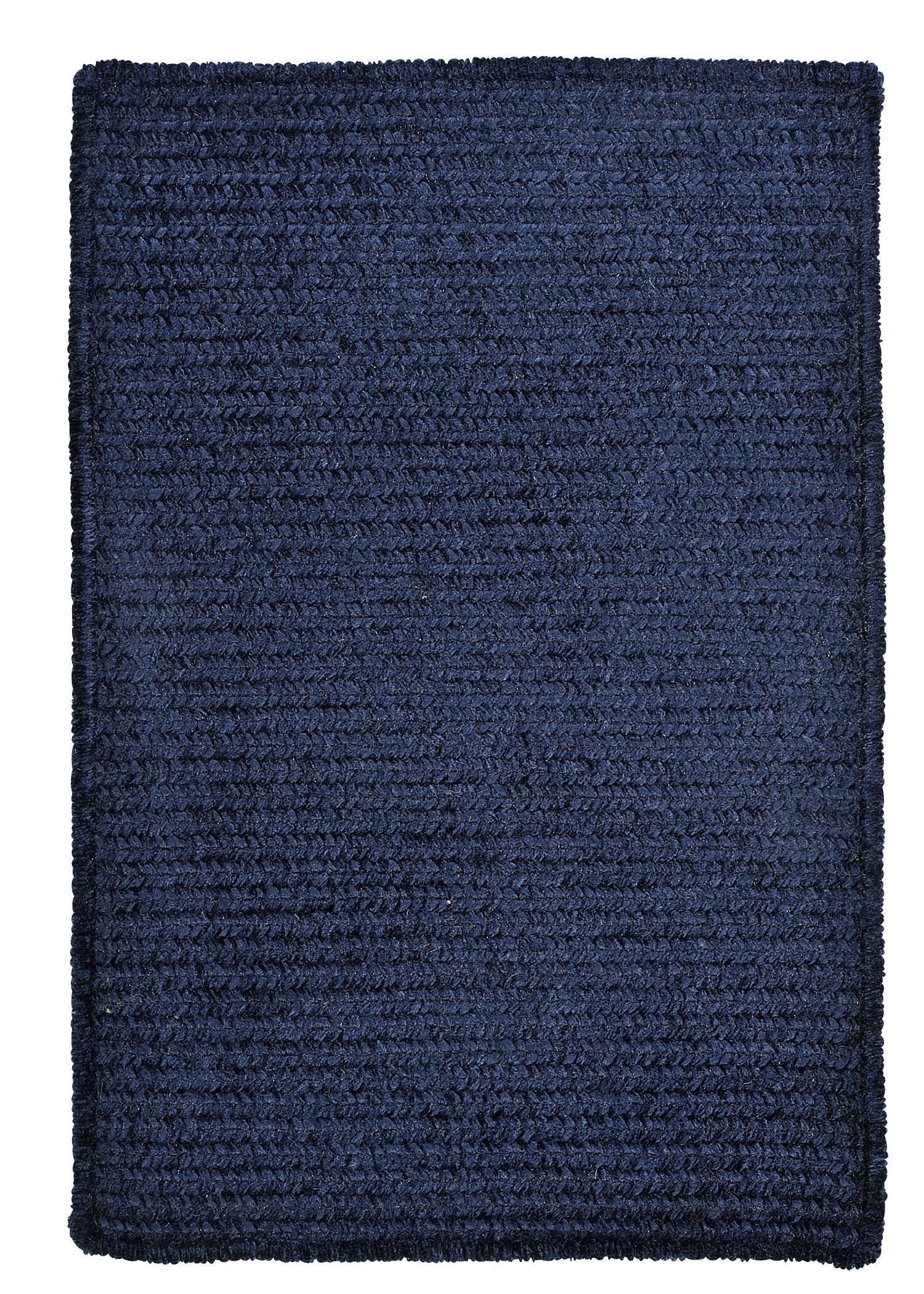 Gibbons Navy Indoor/Outdoor Area Rug Rug Size: Rectangle 5' x 8'