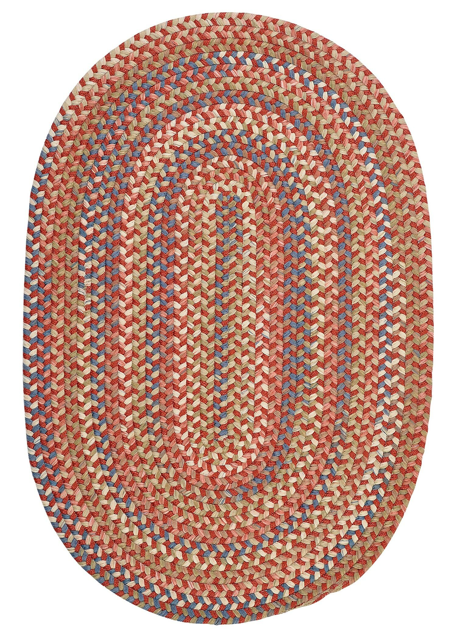 Kipton Rust Area Rug Rug Size: Rectangle 5' x 8'