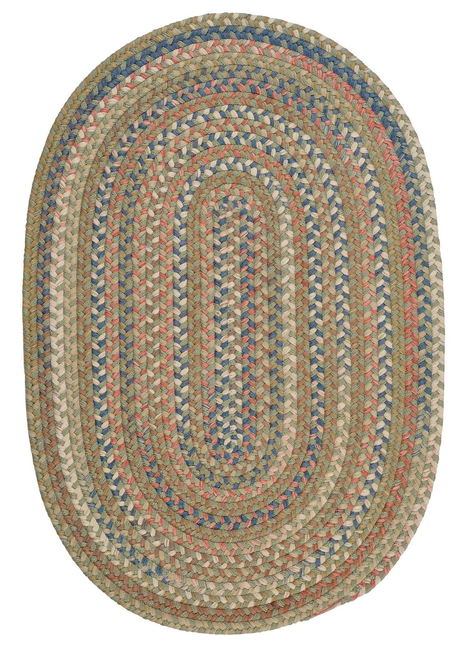 Kipton Olive Area Rug Rug Size: Rectangle 5' x 8'