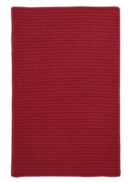 Glasgow Red Indoor/Outdoor Area Rug Rug Size: Rectangle 8' x 11'