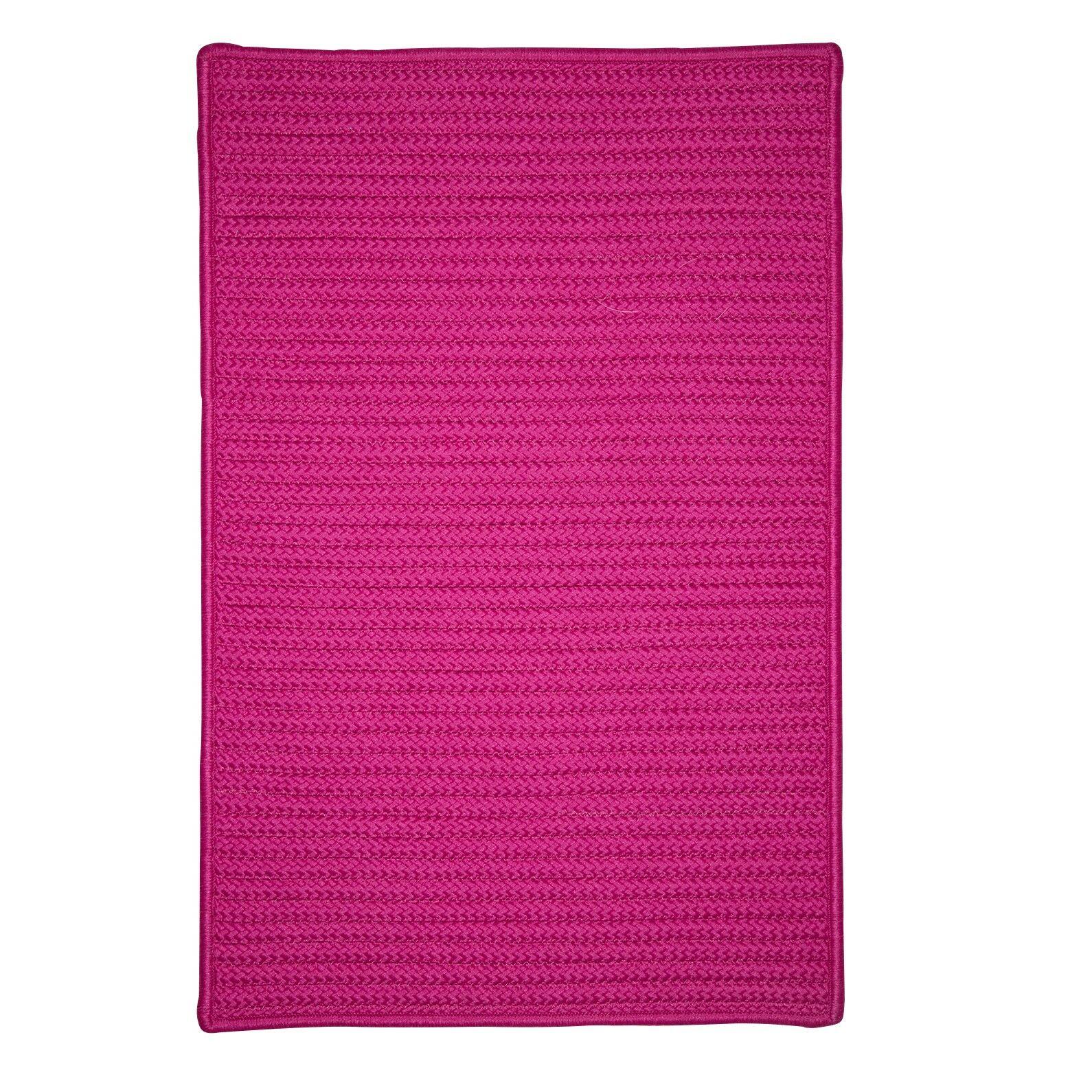 Glasgow Pink Indoor/Outdoor Area Rug Rug Size: Rectangle 12' x 15'