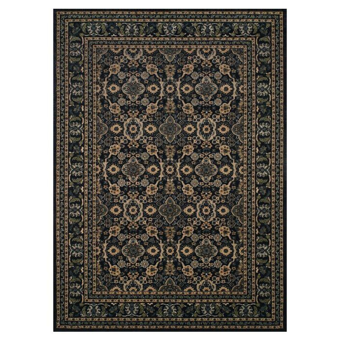 Carbondale Black Area Rug Rug Size: Rectangle 10' x 13'2