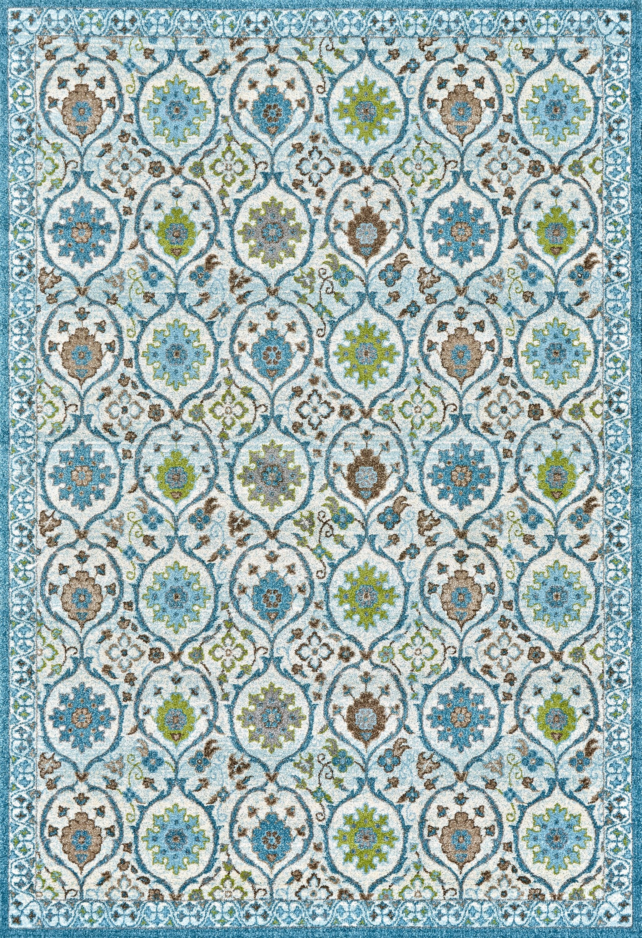 Colegrove Blue Area Rug Rug Size: Rectangle 8' x 11'