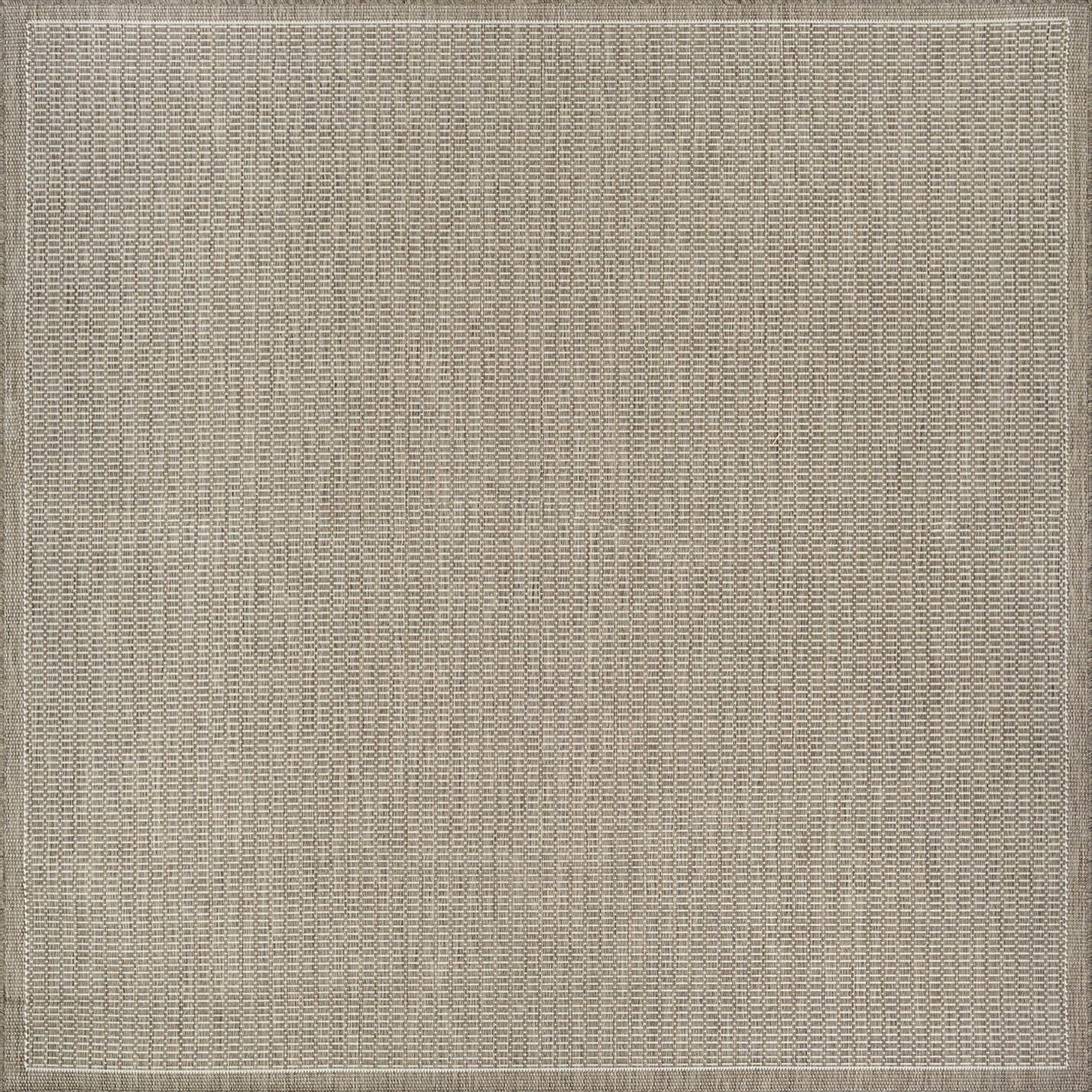 Westlund Champagne/Taupe Indoor/Outdoor Area Rug Rug Size: Square 7'6