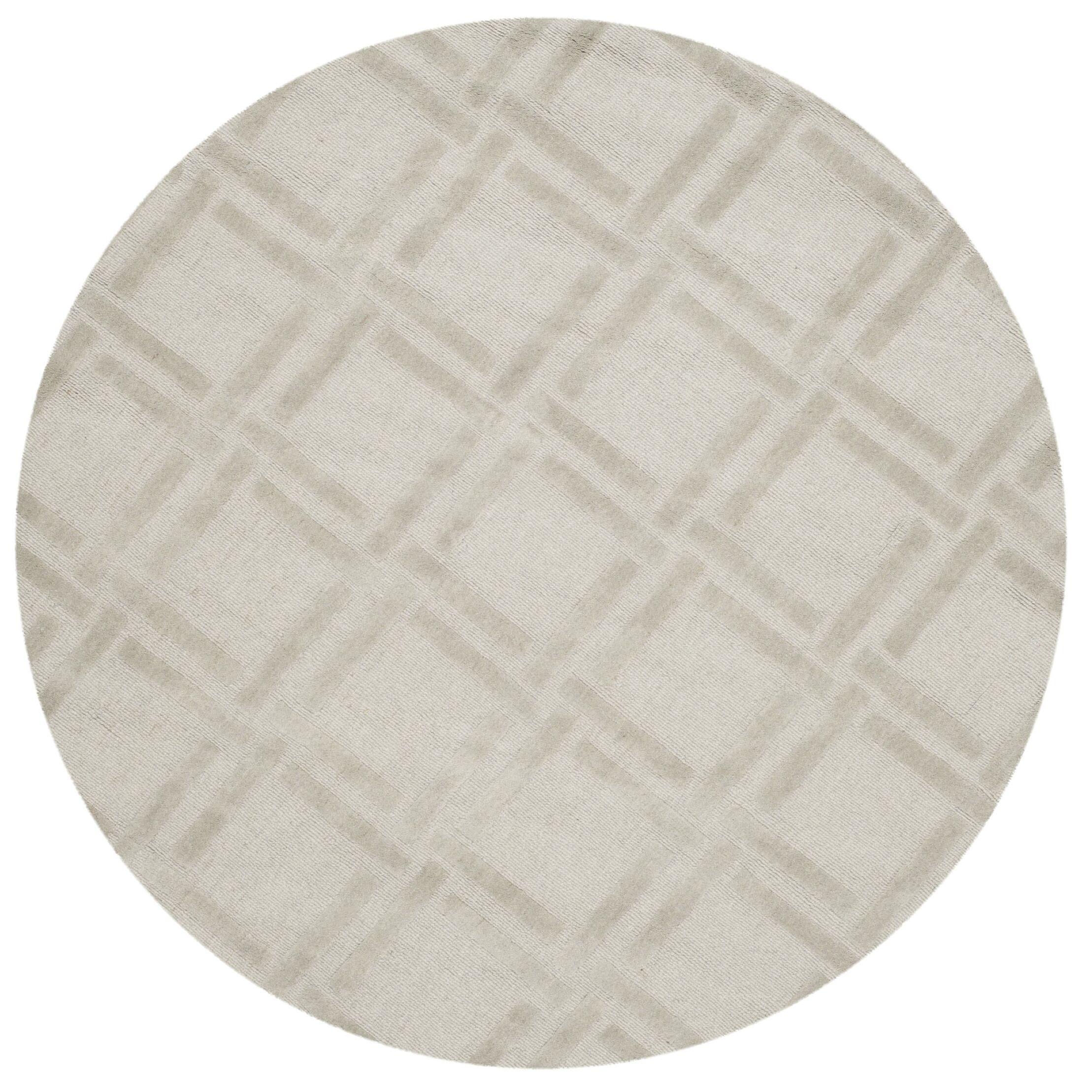 Opal Hand Woven Wool Gray Area Rug Rug Size: Rectangle 7'6