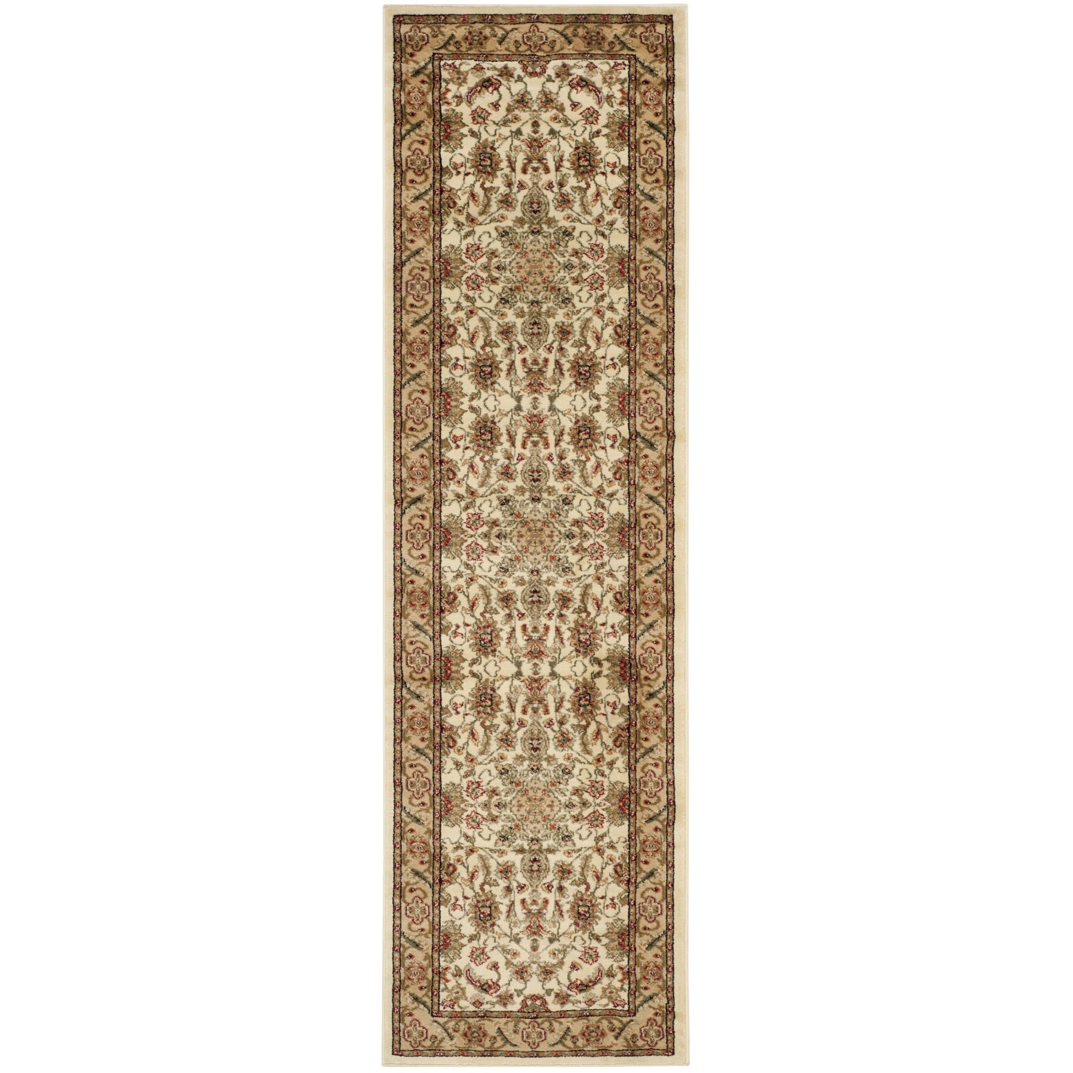 Ottis Cream/Tan Area Rug Rug Size: Runner 2'3
