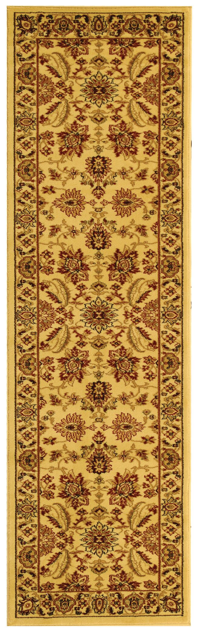Ottis Cream Area Rug Rug Size: Runner 2'3