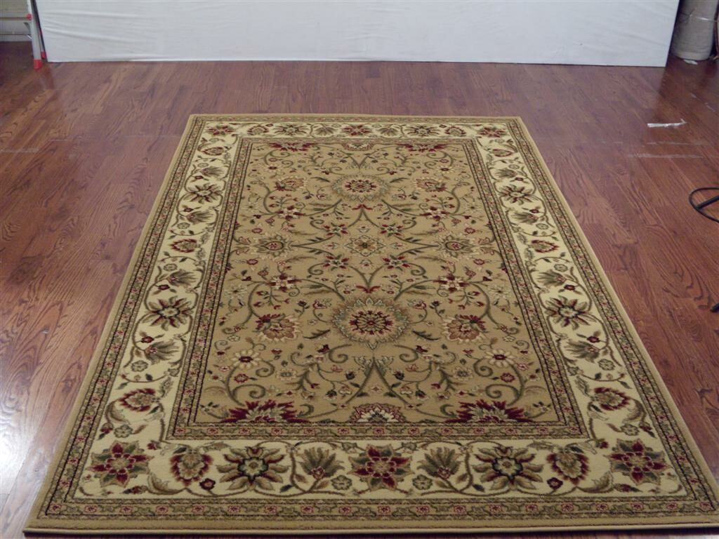 Ottis Beige/Ivory Area Rug Rug Size: Rectangle 6' x 9'