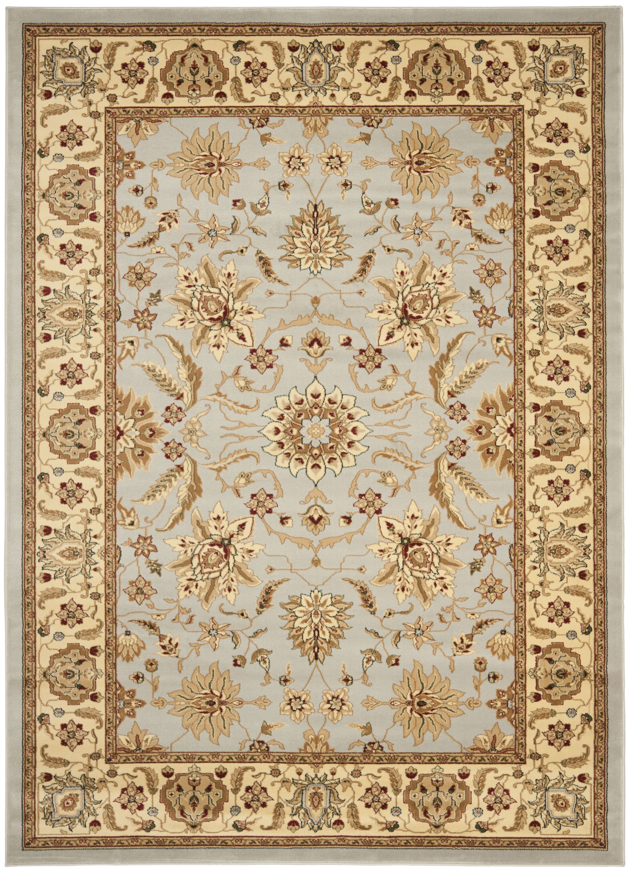 Ottis Gray/Beige Area Rug Rug Size: Rectangle 8' x 11'