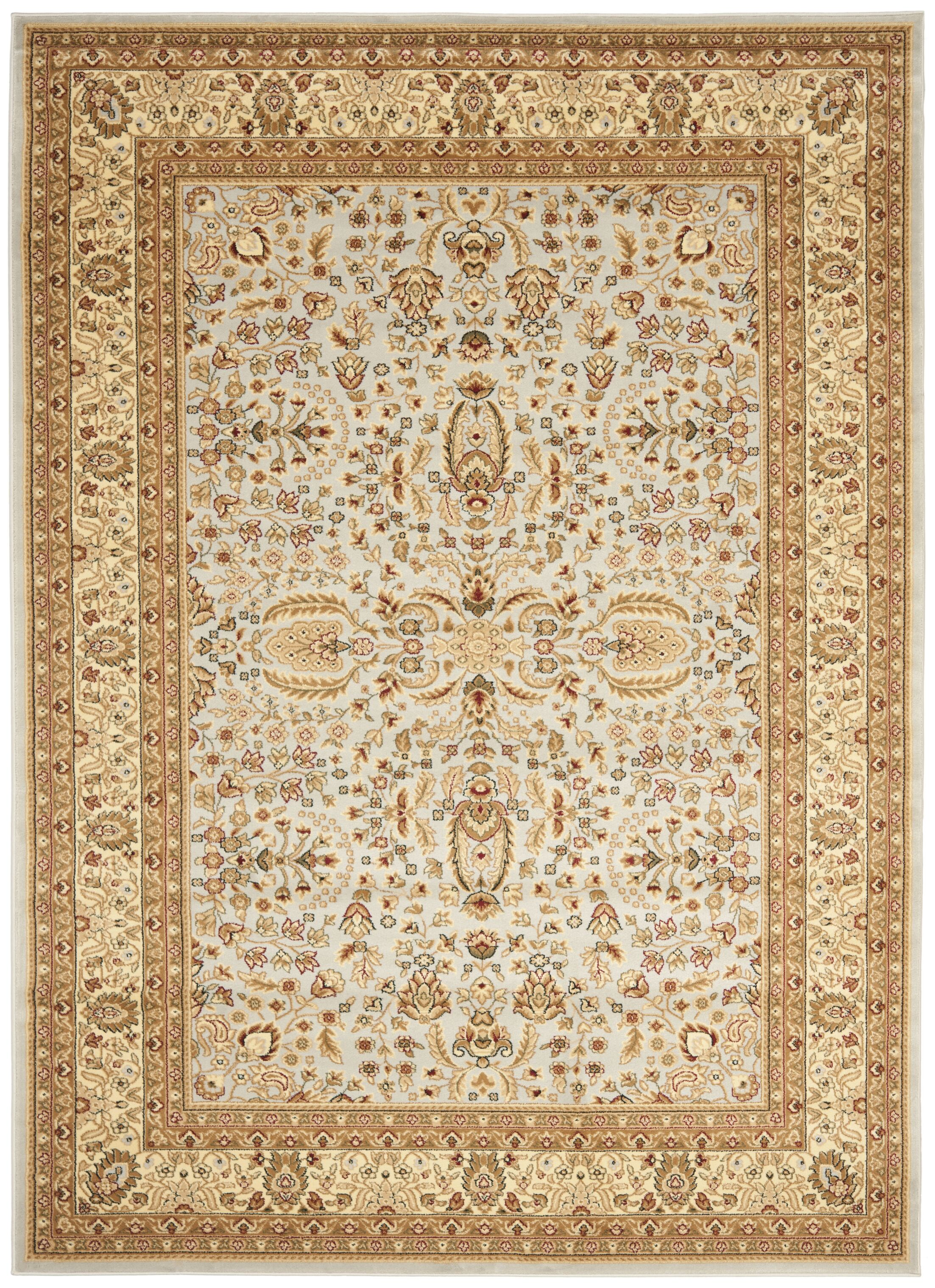 Ottis Gray/Beige Area Rug Rug Size: Rectangle 6' x 9'