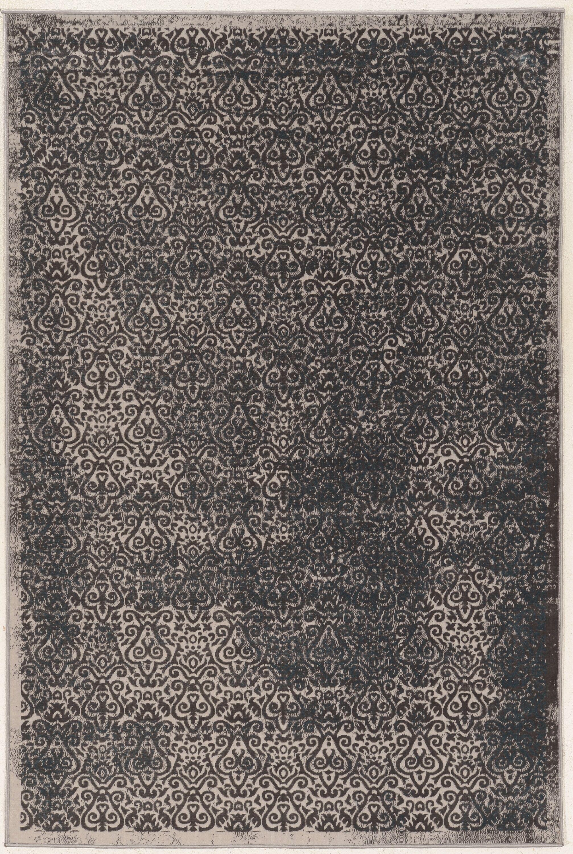 Coeur Beige/Gray Area Rug Rug Size: Rectangle 9' x 12'