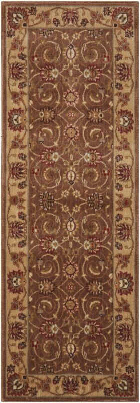 Merton Hand-Woven Taupe Area Rug Rug Size: Runner 2' x 5'9