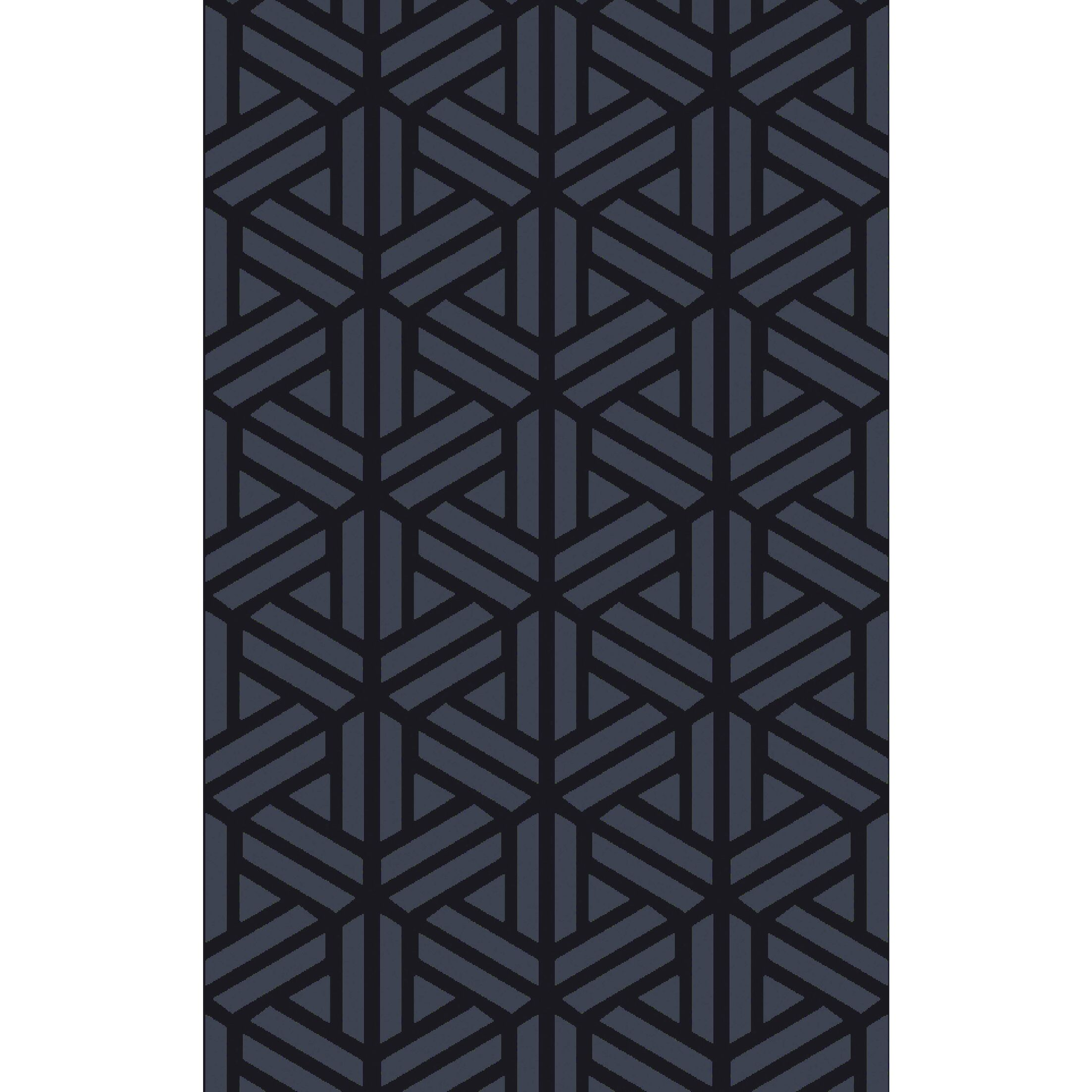 Peever Hand-Loomed Navy Area Rug Rug Size: Rectangle 5' x 8'