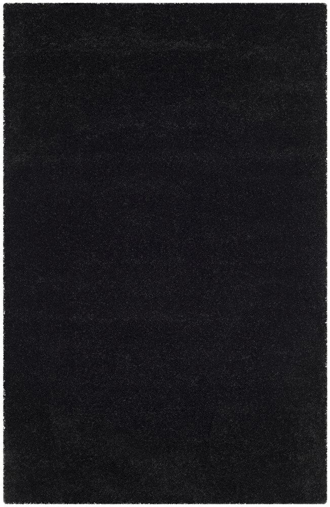 Raphael Black Area Rug Rug Size: Rectangle 6' x 9'
