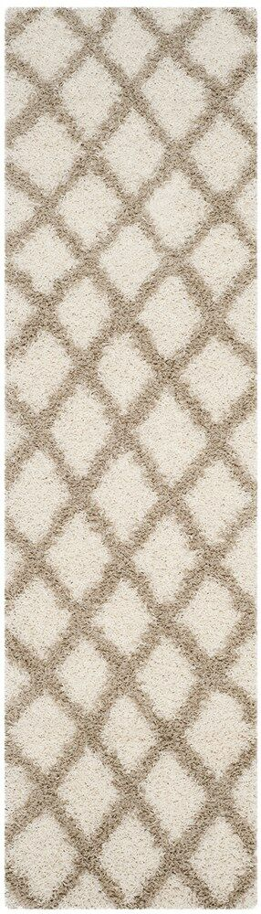 Unadilla Ivory/Beige Area Rug Rug Size: Rectangle 6' x 9'