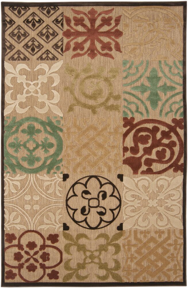 Hammitt Natural Outdoor Rug Rug Size: Rectangle 7'10