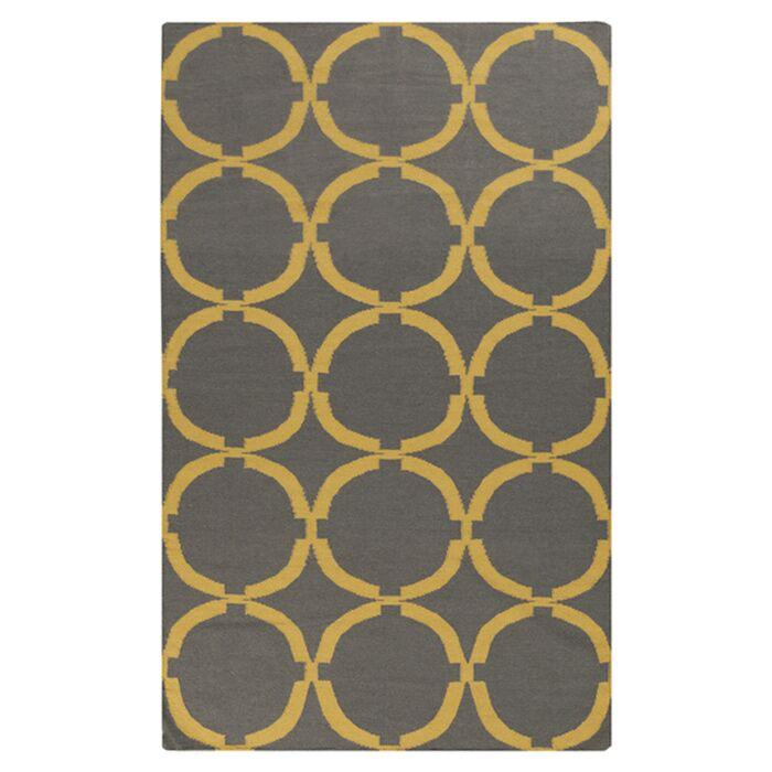 Atkins Dove Gray Area Rug Rug Size: Rectangle 8' x 11'