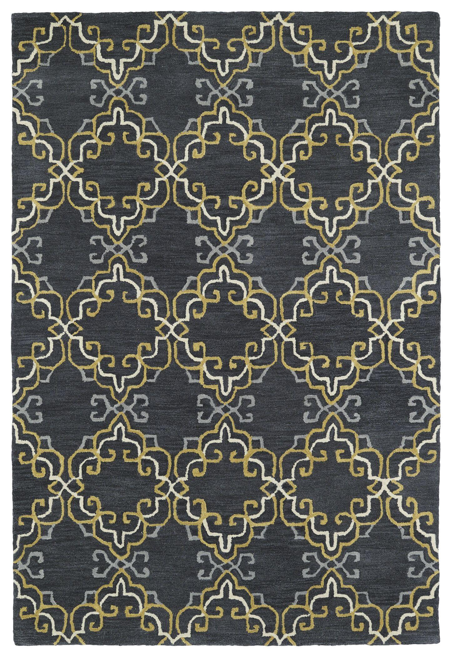 Newburgh Hand-Tufted Area Rug Rug Size: Rectangle 8' x 10'