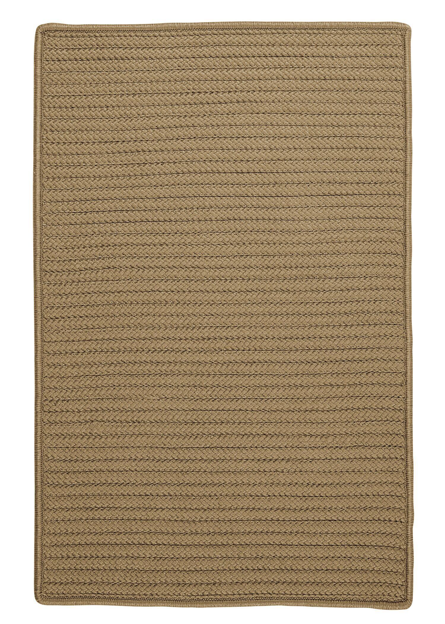 Glasgow Brown Indoor/Outdoor Area Rug Rug Size: Rectangle 5' x 8'